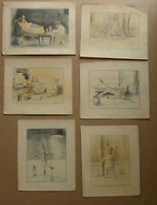 Fausta Arvelund (1894) Toy Story. 6 original illustrations for a fairy tale.