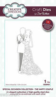 Craft Dies Sue Wilson  THE HAPPY COUPLE Special Occasion Collection CED9401