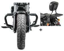 Barra antipánico + sissybar sb1 para Harley sportster 883 04-10