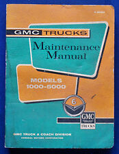 Werkstatthandbuch Shop Service Manual 1961 GMC Trucks 1000-5000 (USA) ORIGINAL