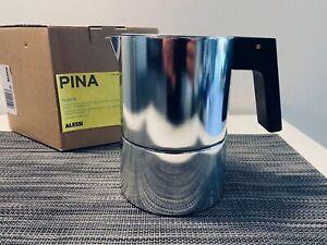 ALESSI Pina Espresso Coffee Pot 6 Cup by Piero Lissoni - RARE