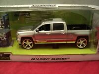 Jada 2014 Chevrolet Silverado  Pickup 1/24 scale w/extra wheels in box nib 2019