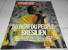 EQUIPE MAGAZINE N°647 1994 WORLD CUP FOOTBALL USA 94 1/2 FINALES BRESIL BUBKA F1