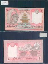 NEPAL 5 RUPEES 1987 UNC (rif. 172)