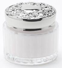LADY PRIMROSE TRYST BODY CREME / CREAM JAR WITH ENGRAVEABLE LID  * 5 OZ.