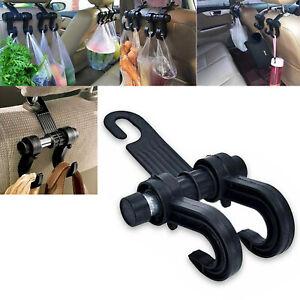 Universal Back Seat Hanger Holder Hook Muti-Function Bag Cloth Organizer Car SUV