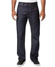 "SEAN JOHN ""HAMILTON"" Classic Relaxed Fit Raw Indigo Men's Denim Jeans"