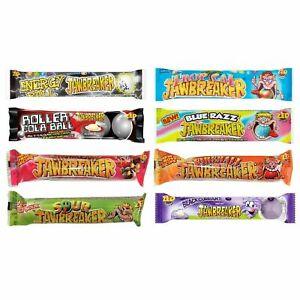 Verschiedene Jawbreakers Packung Zed Candy Neuheit Kaugummi Süßigkeiten Fireball