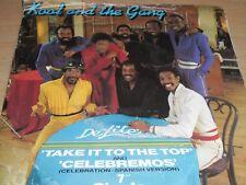"Kool & The Gang Take It To The Top c/w Celebremos 7"" Vinyl 1980 De-Lite DE 2"