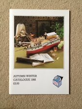 Mint & Box Antique & Collectable Toys Catalogue Winter 1988