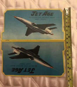 Vintage JET AGE 85 SILVER EYE Needle Book Rust Proof Japan Antique Sewing Notion