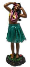 """Hawaiian Dashboard Hula Girl Doll Dance Pose Aloha Hawaii Island 7"""" Wiggles NIB"""