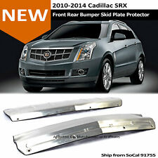 10-14 Cadillac SRX Front Rear Bumper Skid Plate Aero Diffuser T304 S.S. Brushed