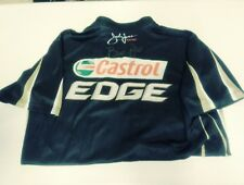 Brittany Force Autographed Signed Castrol Edge Race Used NHRA Crew Shirt Rare