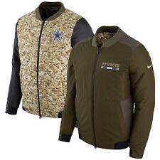 Nike Dallas Cowboys 2017 Salute to Service Reversible Bomber Jacket (XL) - NEW