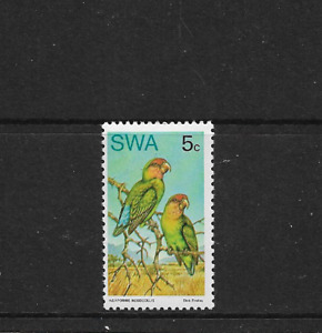 1974 SOUTH WEST AFRICA - Rare Birds - Single Stamp - Very Lightly Hinged Mint..