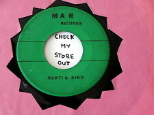TULU BABIES~HURTIN KIND~ MAR RECORDS~ RARE~ MAD MIKE MONSTER~ ~PSYCH~ GARAGE 45