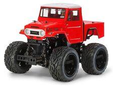 Tamiya 47305 1/12 EP RC GF-01 Chassis Land Cruiser Red Painted Body Kit w/ESC