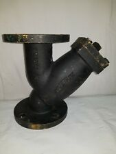 "Keckley Y-Strainer Style A, 2-1/2"" Flanged 125#, Cast Iron"
