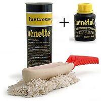 Authentic Original Nenette Car Duster + 50ml Nenetol Refill Polish.