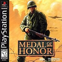 Medal of Honor (Sony PlayStation 1, PS1, 1999) Disc Only, Tested