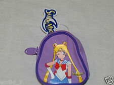 NEW WITH TAGS PURPLE SAILOR MOON COIN PURSE BAG