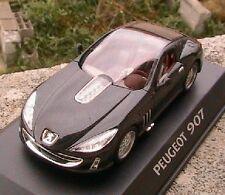 PEUGEOT 907 CONCEPT CAR NOIRE NOREV BLACK 1/43 IPOD NEW