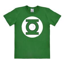LOGOSHIRT - DC Comics - Superhero - Green Lantern - Logo - T-Shirt - grün