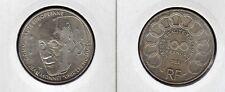 FRANCE 100 F argent JEAN MONNET europe 1992  superbe