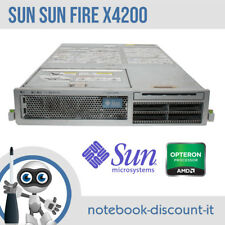 SUN Fire X4200 Dual AMD Opteron 2216 Ram 4gb HDD Controller SAS Rack 2U Server