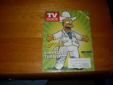 New listing The Simpsons Turn 20: Tv Guide: December 7-20, 2009: Colonel Homer