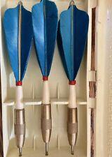 Vintage Kwiz Darts With Case