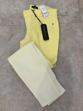 NWT BEBE YELLOW SKINNY JEANS