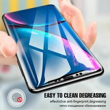 Silicon Screen Protector For iPhone XR XS MAX Ful Cover Hydrogel Front Back Film
