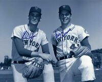 Nolan Ryan / Tom Seaver Autographed Signed 8x10 Photo ( HOF Mets ) REPRINT