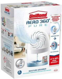 Unibond AERO 360 Pure Moisture Trap Humidity Absorber De Humidifiers Rooms 20m2