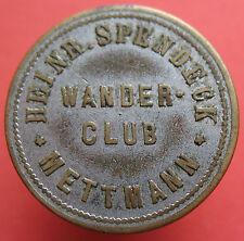 Old Rare Deutsche token -Mettmann - Wander-Club 15pf-20929.1 mehr am ebay.pl