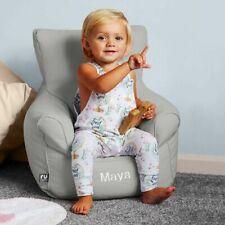 rucomfy Beanbags Kids Toddler & Childrens Chair Seat Bean Bag  Personalised Name