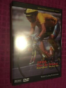 RARE 1990 Tour de France Greg Lemond: The Best Yet DVD WORLD CYCLING PRODUCTIONS