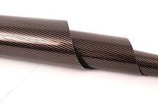 25cm X 152cm Glänzend Carbon Gold/Schwarz, Car Wrapping Folie - 39,21Euro/qm
