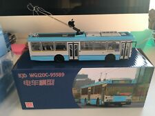 Beijing City trolleybus with Carrier Sutrak air cond BJD WG120A model car 1/64