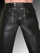 Herren-Trachtenhosen aus Leder in Größe 52