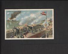 1887 N99 Civil War Battle Scenes Duke Tobacco Bombardment of Fort Sumter