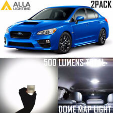 Alla Lighting Dome Map Lights DE3175 White LED Bulbs for Subaru Impreza WRX STI