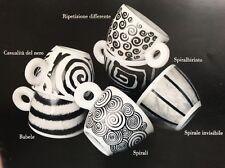 "Illy Collection ""spirali"" by Roberta petrobelli, 6-teilges espressoset,! nuevo!"