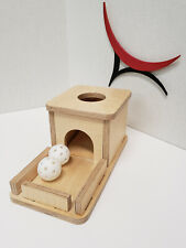 New Montessori Object Permanence Box with Tray and Ball