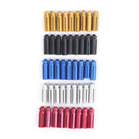 9X Aluminum Dart Flight Savers Protectors Darts Accessory for Steel Soft Tip S*