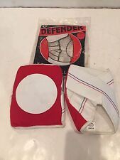 VINTAGE NOS DEFENDER SKATEBOARD VOLLEYBALL SPORTS KNEE PADS RED SIZE MEDIUM