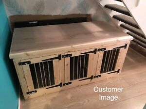 indoor triple dog kennel delivery included depending on post code please enquire