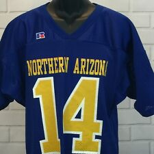 Northern Arizona Lumberjacks College Football Jersey Russell Athetic Size M #14